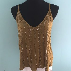 FREE PEOPLE Embellished Tank